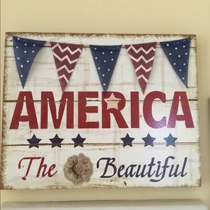 Other - America The Beautiful wallhanging